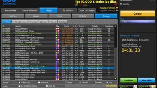 888Poker.es Lobby