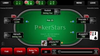 Pokerstars Mobile ES Mesa