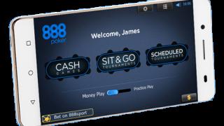888 Poker Mobile Lobby