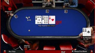 RedKings Poker Mesa
