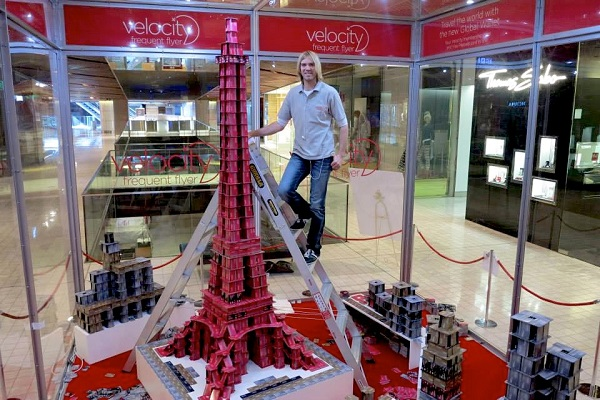 La Torre Eiffel de Bryan Berg
