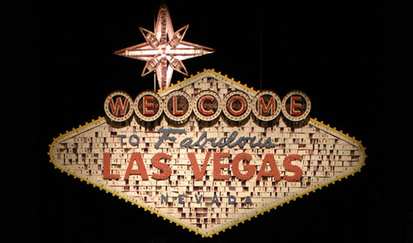 Bryan Berg: el famoso letrero de Las Vegas