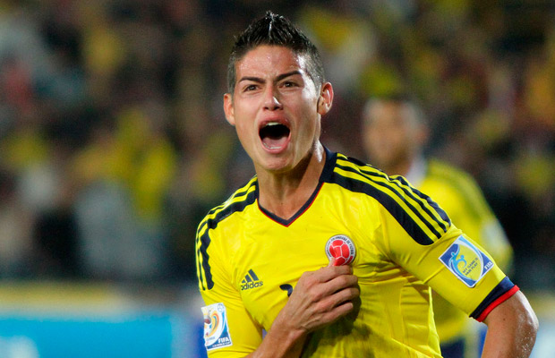 James Rodríguez (Colombia)'