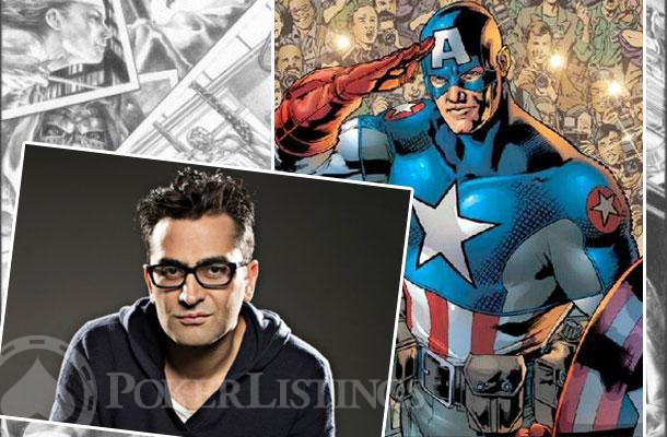 Capitán América-Antonio Esfandiari