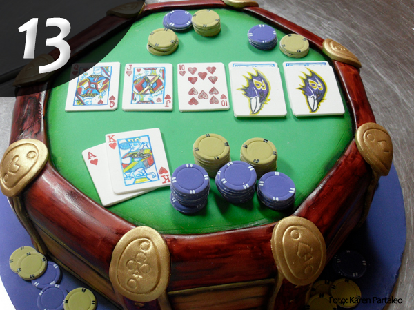 Tartas de Poker 13