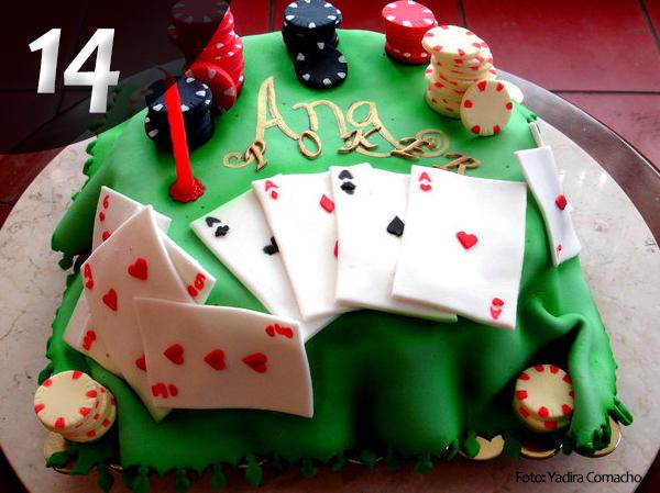 Tartas de Poker 14