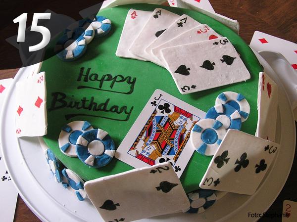 Tartas de Poker 15