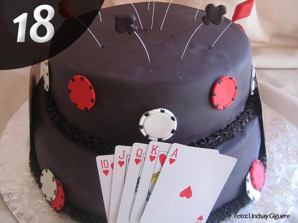 Tartas de Poker 18