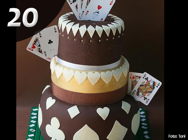 Tartas de Poker 20