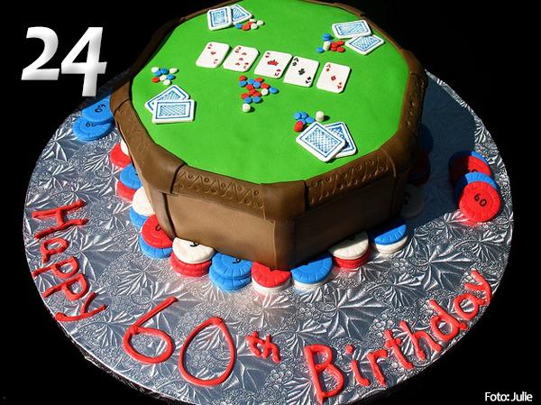Tartas de Poker 24