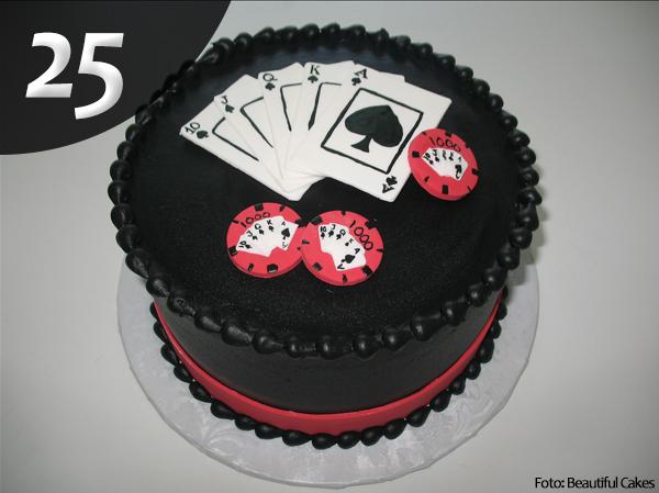 Tartas de Poker 25