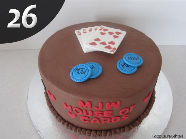 Tartas de Poker 26