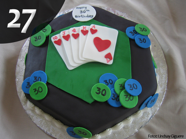 Tartas de Poker 27
