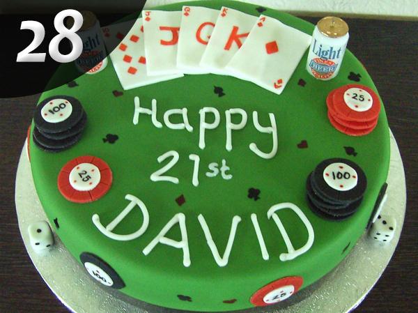 Tartas de Poker 28