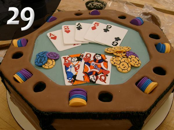 Tartas de Poker 29