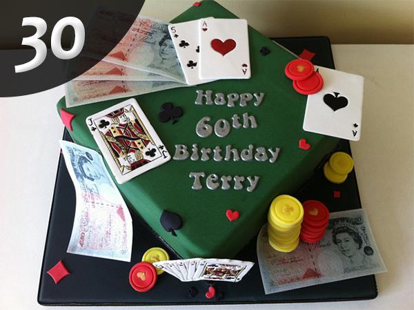 Tartas de Poker 30