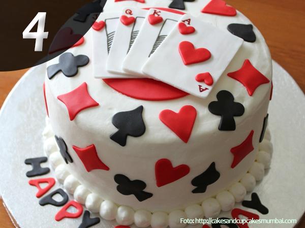 Tartas de Poker 4