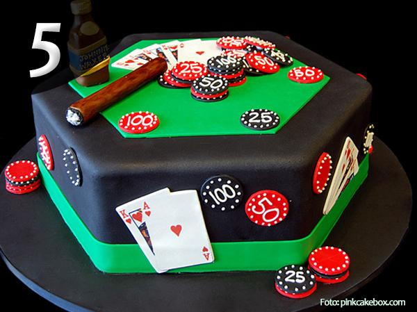 Tartas de Poker 5