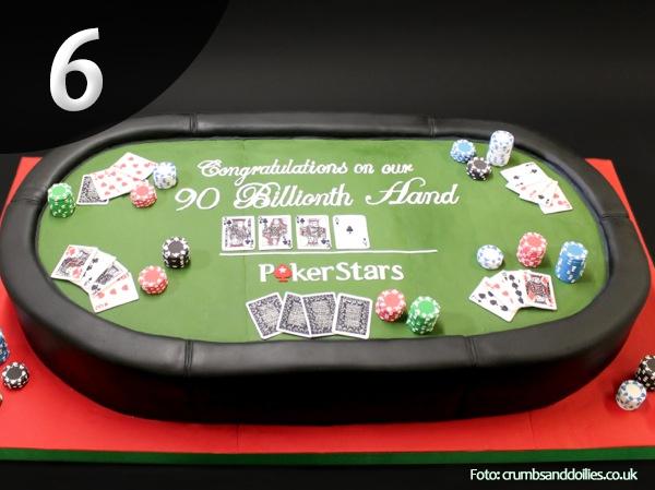 Tartas de Poker 6