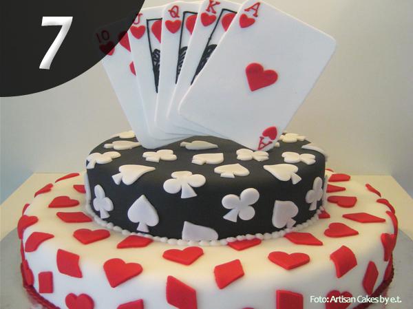 Tartas de Poker 7