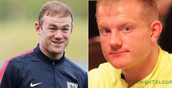 Wayne Rooney y Jason Koon