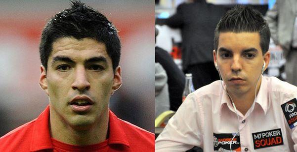 Luis Suarez y Steven Moreau