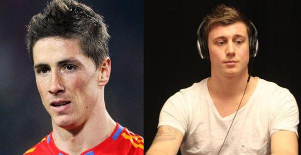 Fernando Torres y Anton Wigg