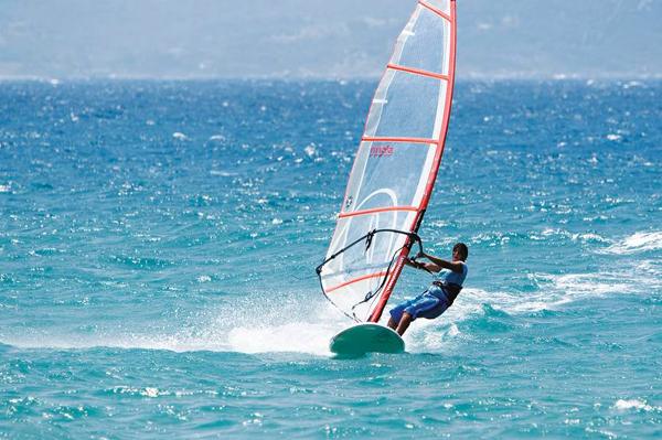 Windsurf en Malta