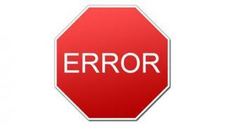 Error Texas