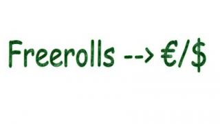 Freerolls dinero
