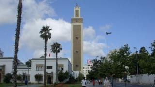 La Gran mezquita de Tanger