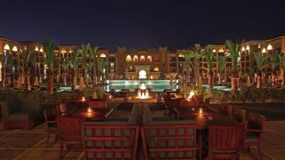 mazagan beach resort night pool 594