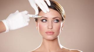 Botox en mujer