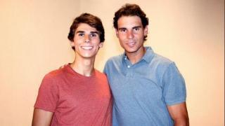 Tomeu y Rafa Nadal