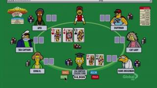 Poker Simpsons