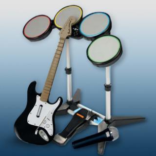 Instrumentos de Rock Band