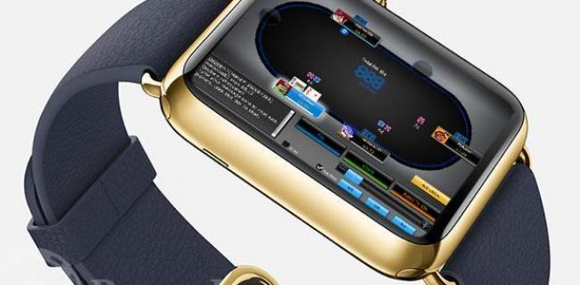 Análisis: ¿Será el Apple Watch una herramienta útil para el poker?