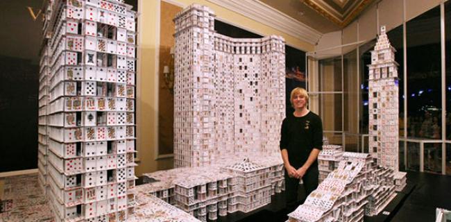 Si lo has visto, puedes construirlo: Bryan Berg, ciudades con cartas