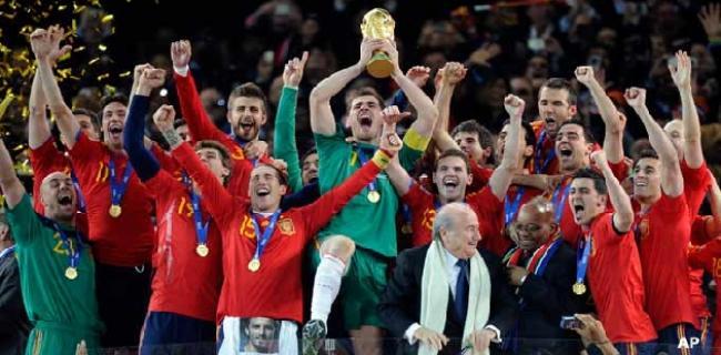 Espana Campeona Mundo
