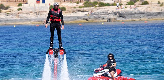 Batle of Malta: Actividades acuáticas para añadir acción y diversión