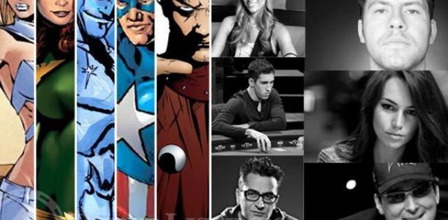Superhéroes de Marvel: 10 héroes de poker desenmascarados en las mesas