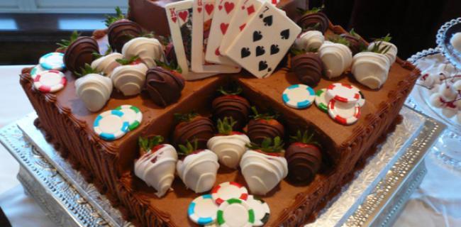 Tartas y poker: Dos pasiones unidas en un completo Top30 muy dulce