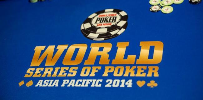 WSOP APAC 2014