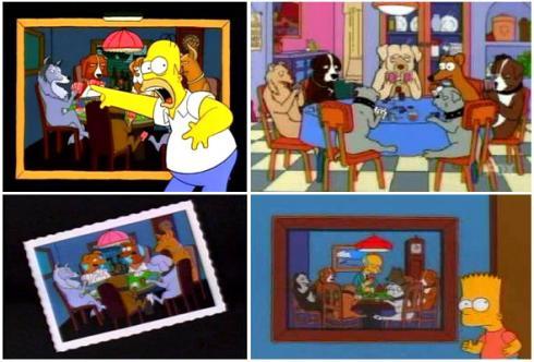 Los Simpsons y el Poker